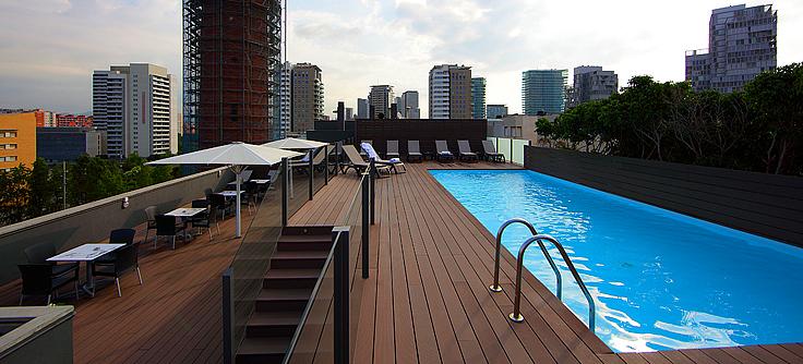 Attica 21 barcelona mar spain catalu a barcelona tripinview - Hotel piscina barcellona ...