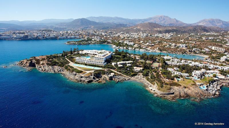 Greece Crete Lasithi Agios Nikolaos Minos Palas