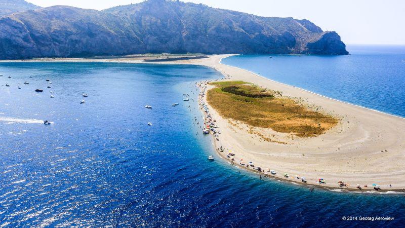 Italy Sicily Messina Spiaggia Marinello Tripinview