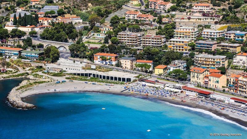 Italy Liguria Imperia Ospedaletti Tripinview
