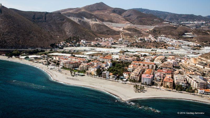 Playa Del Sotillo Castell De Ferro Spain Andalucia Granada