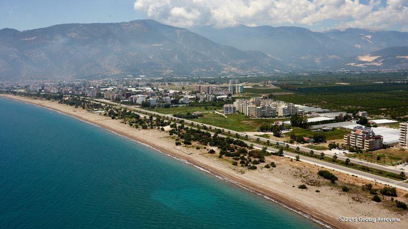 Turkey, Antalya, Finike, Finike Beach